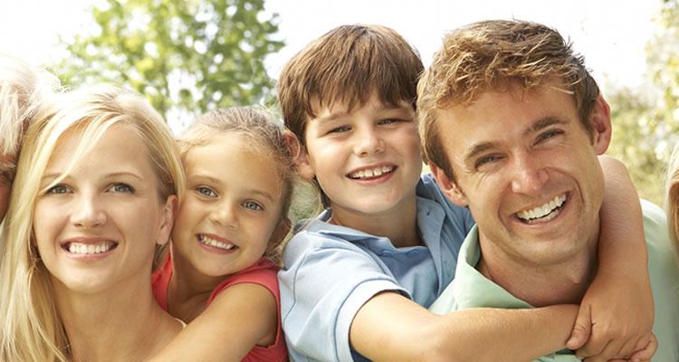 devitalizzazione dei denti corretta fornisce l'immagine di denti sani